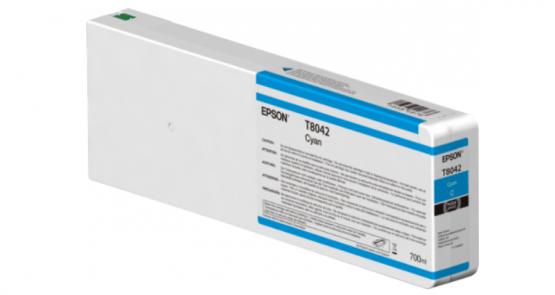 Epson Singlepack Cyan T804200 UltraChrome HDX/HD 700ml