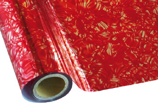 Heißprägefolie ROAC01 FLORAL RED