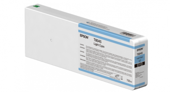 Epson Singlepack Light Cyan T804500 UltraChrome HDX/HD 700ml
