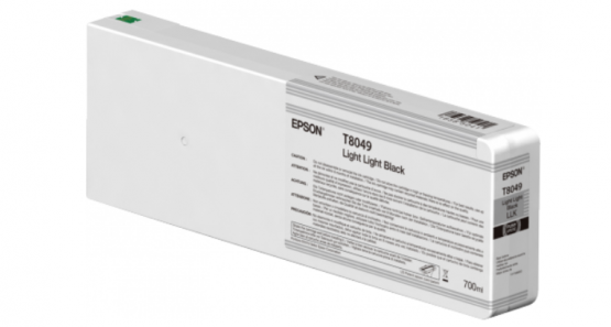 Epson Singlepack Light Light Black T804900 UltraChrome HDX/HD 700ml