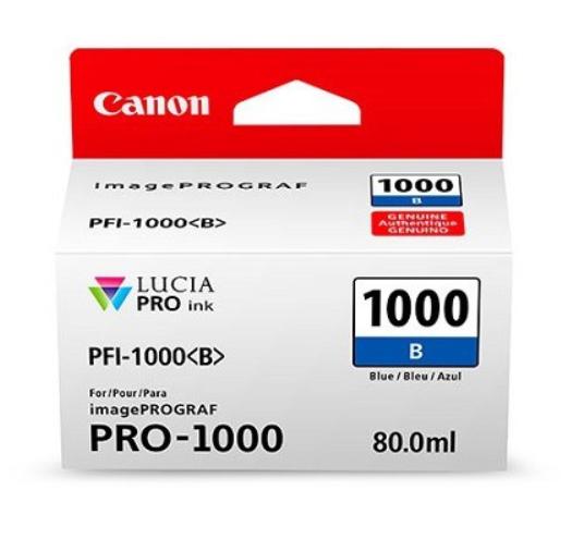 Canon Tinte PFI-1000B Blau, 80 ml
