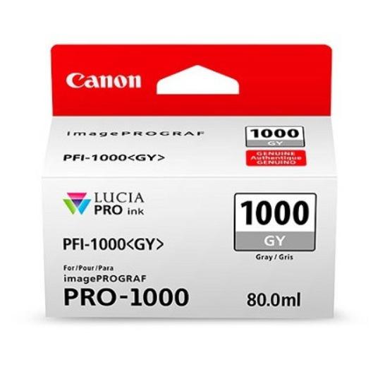 Canon Tinte PFI-1000GY Grau, 80 ml