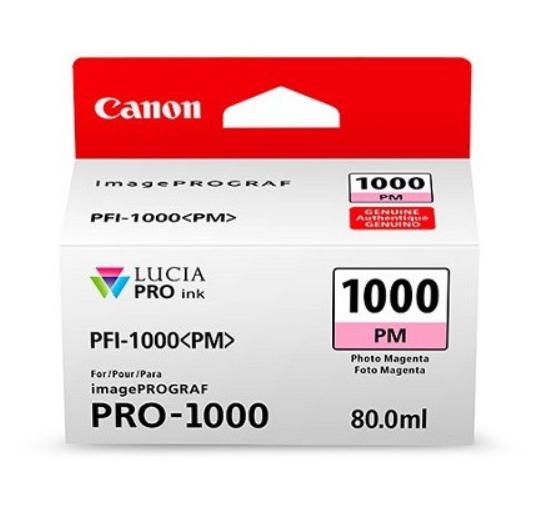 Canon Tinte PFI-1000PM Photo Magenta, 80 ml