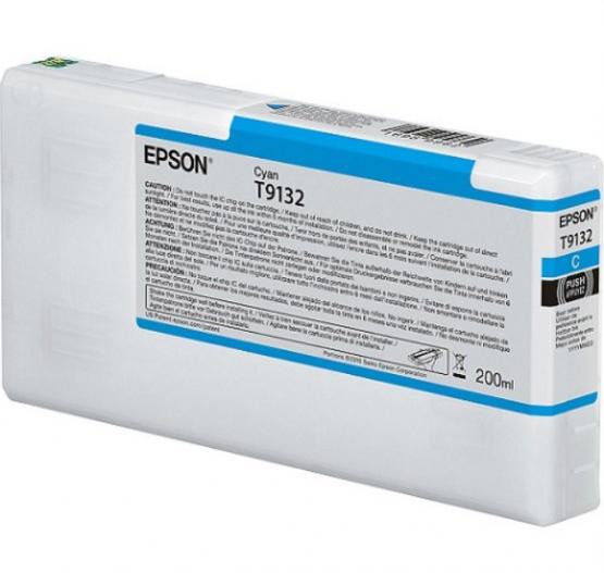 Epson Tinte T9132 Cyan, 200ml