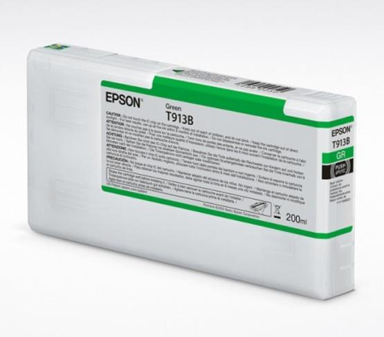 Epson Tinte T913B Grün, 200ml
