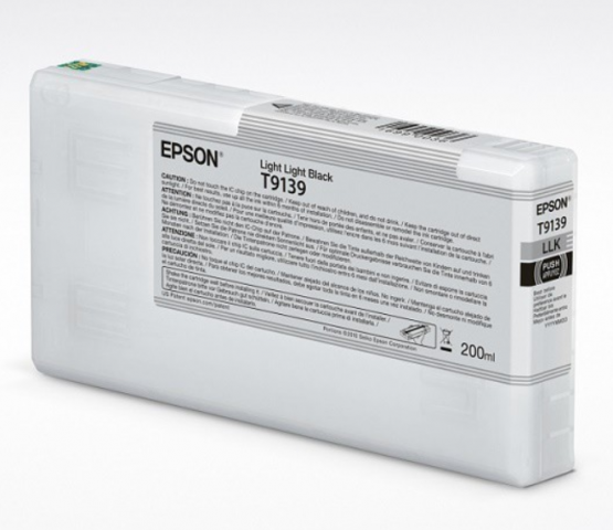 Epson Tinte T9139 Light Light Black, 200ml