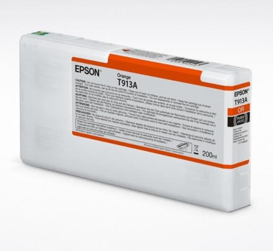 Epson Tinte T913A Orange, 200ml