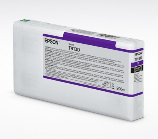 Epson Tinte T913D Violett, 200ml