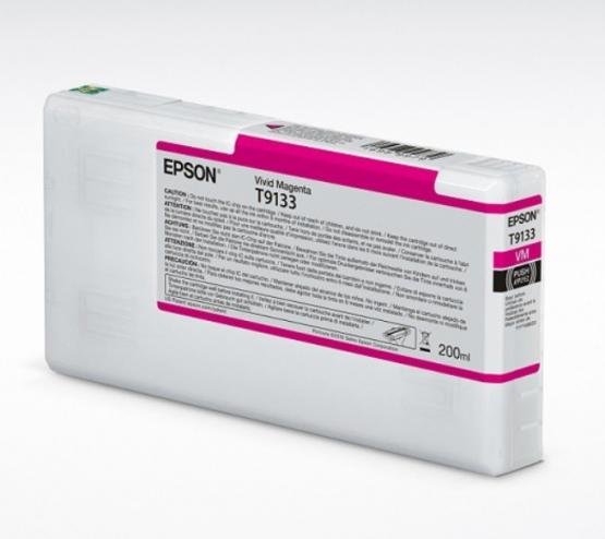 Epson Tinte T9133 Vivid Magenta, 200ml