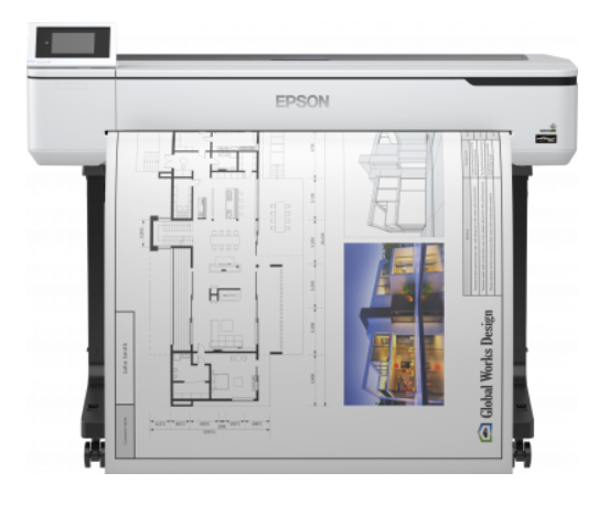 Epson SureColor SC-T5100 inkl. 3 Jahre Vor-Ort-Service