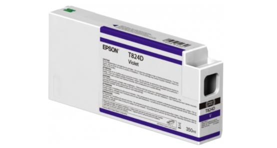 Epson Singlepack Violet T824D00 UltraChrome HDX/HD 350ml