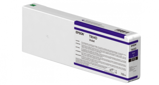 Epson Singlepack Violet T804D00 UltraChrome HDX/HD 700ml