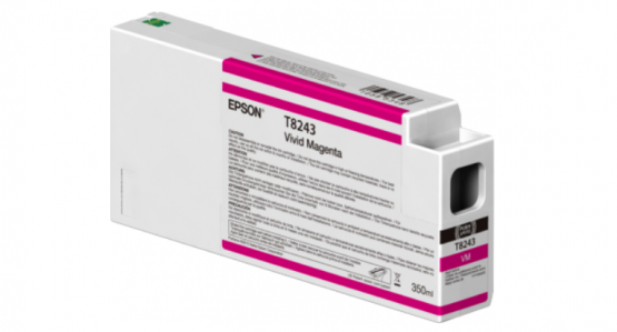 Epson Singlepack Vivid Magenta T824300 UltraChrome HDX/HD 350ml