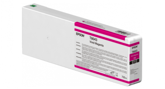 Epson Singlepack Vivid Magenta T804300 UltraChrome HDX/HD 700ml